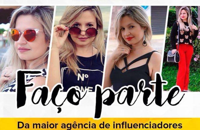 Faço parte da maior agência de influenciadores digitais do Brasil